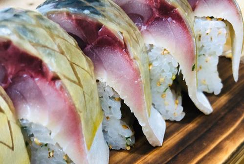 サバ寿司一本